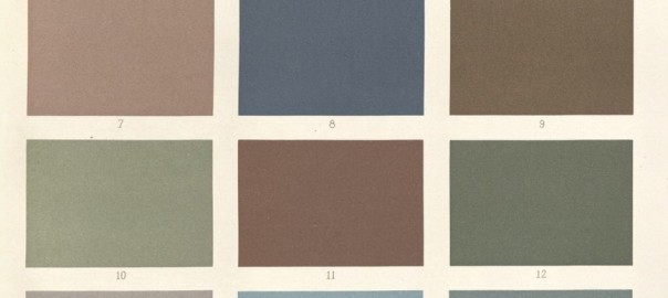 Colours for decorating churches